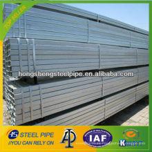 Placa de zinc Tubo de acero sin costura