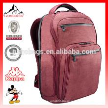 Malha de negócios acolchoada mochila e compartimento de Laptop