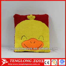 duck shaped cushion plush animal shaped cushion