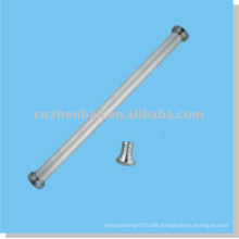 curtain accessories-metal curtain end cap (big size) for round bottom rail of roller blind-window covering component
