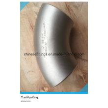 Acessórios de aço inoxidável sem costura 75deg cotovelo