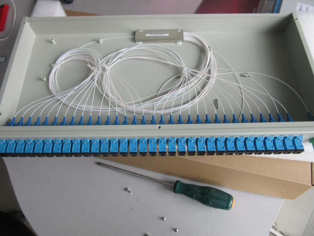 Rack Mounted Fiber Optic Splitter Box