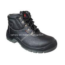 Chaussures de sécurité de base en cuir gaufré (HQ648)