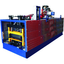 Sanxing China KR 163 Standing Seam Roof Forming Machine Metal Roofing KR Cold Roll forming machinery
