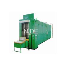 Machine à rouleaux à imprégnation de vernis à stator à stator automatique