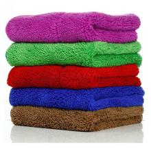 thick plush microfiber cloth car care towels