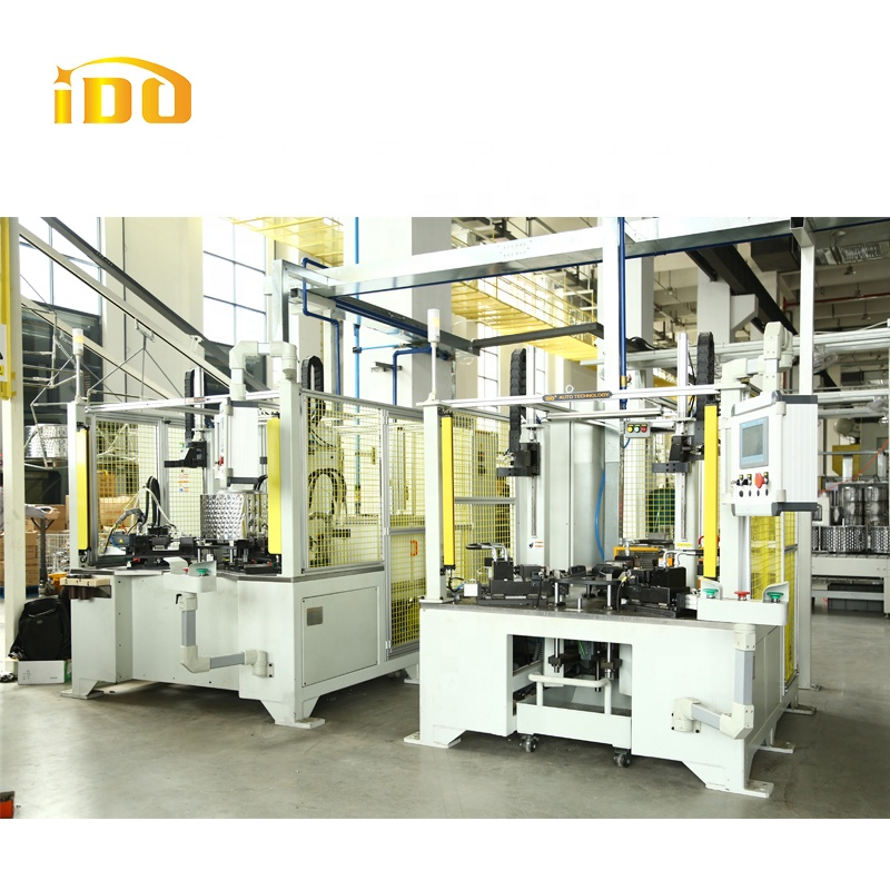 Wm Drum Welding Prodction Line