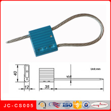 Jc-CS005 Metal Material and Sealing Strip Style Security Cable Seal