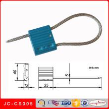 Jc-CS005 alta qualidade segurança selos de cabo de segurança fechaduras recipiente selos