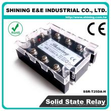 SSR-T25DA-H CE CC AC CE Relé 110VAC Relé de estado sólido SSR 3 fases