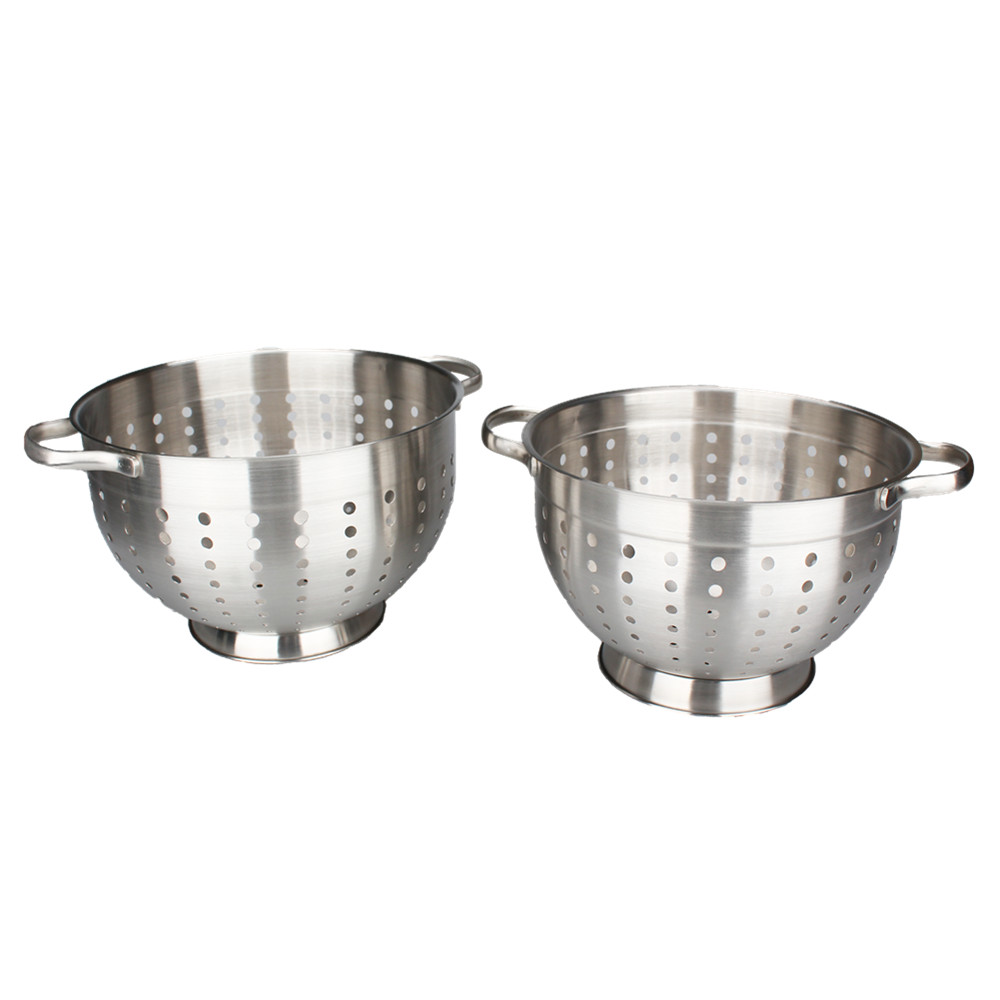 Silver Kitchen Aid Colander