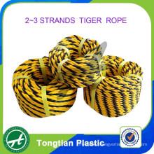 China Factory 2 Strands 3 Strands Polyethylene Tiger Rope