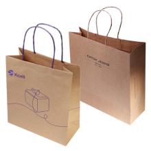 Cheap Wholesale Custom Printed ECO Friendly Brown Kraft Paper Bag