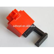 Aprobar CE polipropileno muy duradero, cerradura eléctrica de nylon modificado anti-impacto de la cerradura hacia fuera etiqueta hacia fuera