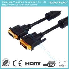 HD 15pinos macho para macho cabo VGA para computador