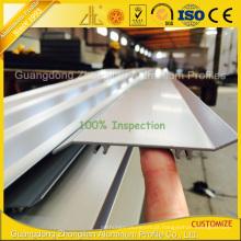 Obturadores de alumínio interiores revestidos do pó com perfil de alumínio da extrusão