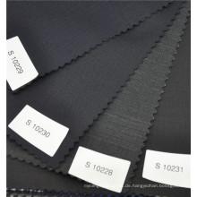 Upscale komfortable Hering Knochen Kammgarn 70% Wolle 30% Polyester Anzug einheitliche Stoff in verschiedenen Farben