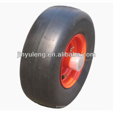 cortacéspedes de césped 15x6.00-6 uso semi sólida la rueda