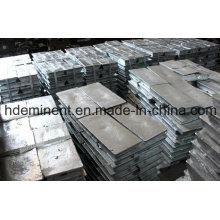 Haute qualité 99,99% Pureté Lingots de Zinc / Alliage de Zinc