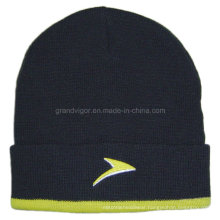 Acrylic Ladies Winter Hat with Nice Embroidery Logo