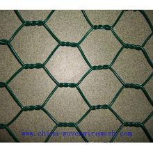 Китай профессиональный мануфактура для ПВХ покрытием гексагональной сетки