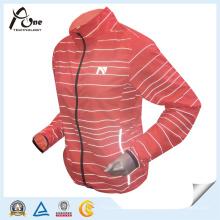 Laufende Jacke Reflektierende Stoff Frauen Sport Tragen für Großhandel