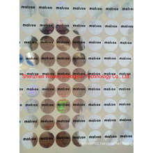 Poduction Laser Adhesive Sticker Laser Tag Customization Logo Sticker Printing