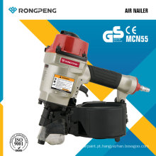 Rongpeng Novo Produto Air Nailer (MCN55) Bobina Nailer Pallet Nailer Power Tools