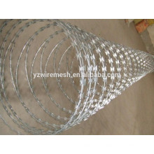High quality hot dipped galvanized razor barbed wire price