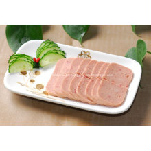 Almoço de carne em conserva