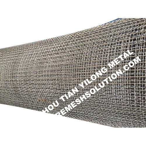 Rectangular Opening Crimped Mesh For Pig Feeding