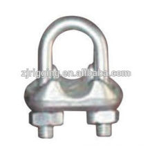 Drop forged wire rope clip Italian type with galvanized