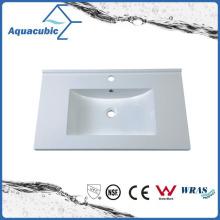 Sanitary Polymarble Table Top Basin Lavatório de banheiro Acb0809