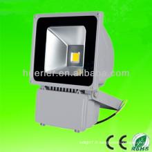 Prix bon marché de haute qualité avec CE RoHS en plein air ip65 12-24v 12v 80watt led flood light 80watt