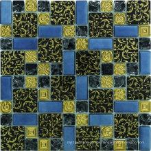 305X320mm China Glass Mosaic in Foshan (AJ2A1602)