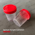 COVID Test Sputum Collection Cup mit Deckel