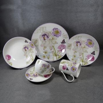 Keramik Geschirr Set White Plate Sets