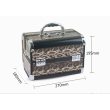Mode Cosmetic Case Leopard Pattern