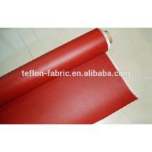 Borracha de silicone revestido de pano de fibra de vidro, revestimento de fibra de vidro com revestimento de silicone, fornecedor China