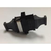 MPO Black Color Black Cap Fiber Optic Adapter