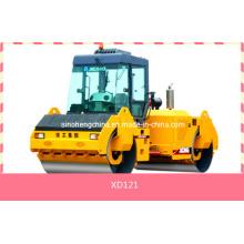 Vibrador dobro de alta qualidade do cilindro, rolo de estrada, maquinaria Xd121 da compactação