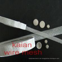 Verschiedene Material Kopfhörer Mesh / Lautsprecher Draht Mesh / Current Collector in Webart Typ, erweiterte Art, perforiert Typ