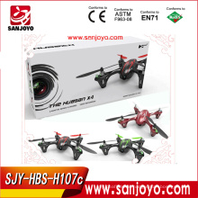 H107C Hubsan X4 rc quad copter with 720p HD Camera (Green/Red/Winered)