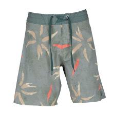 Sublimação personalizada Drawstring 4 Way Stretch Mens Board Shorts
