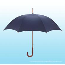 Auto Open Wooden Shaft Straight Umbrella (BD-14)