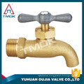American style bibcock taps faucet in wall brass bathroom faucet basin mixer