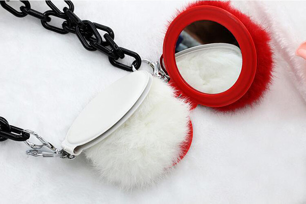POM POM Mirror Necklace