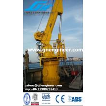 Deck Marine Crane / Schiff Deck Krane / Offshore Sockel Kran