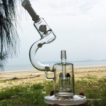 Microscopio de Darwin Vidrio elegante del diseño del placer que fuma el agua Piepes (ES-GD-281)