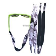 Correa de gafas de sol flotantes deportivas de neopreno multicolor